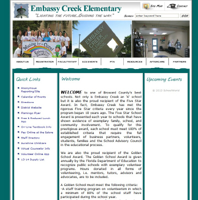 Embassy Lakes | Embassy Creek Elementary School